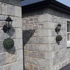 Grey granite complimented with granite cills and surrounds