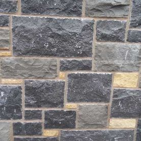 Split modular effect limestone, grey & cream sandstone mix