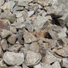 Mixed granite random rubble